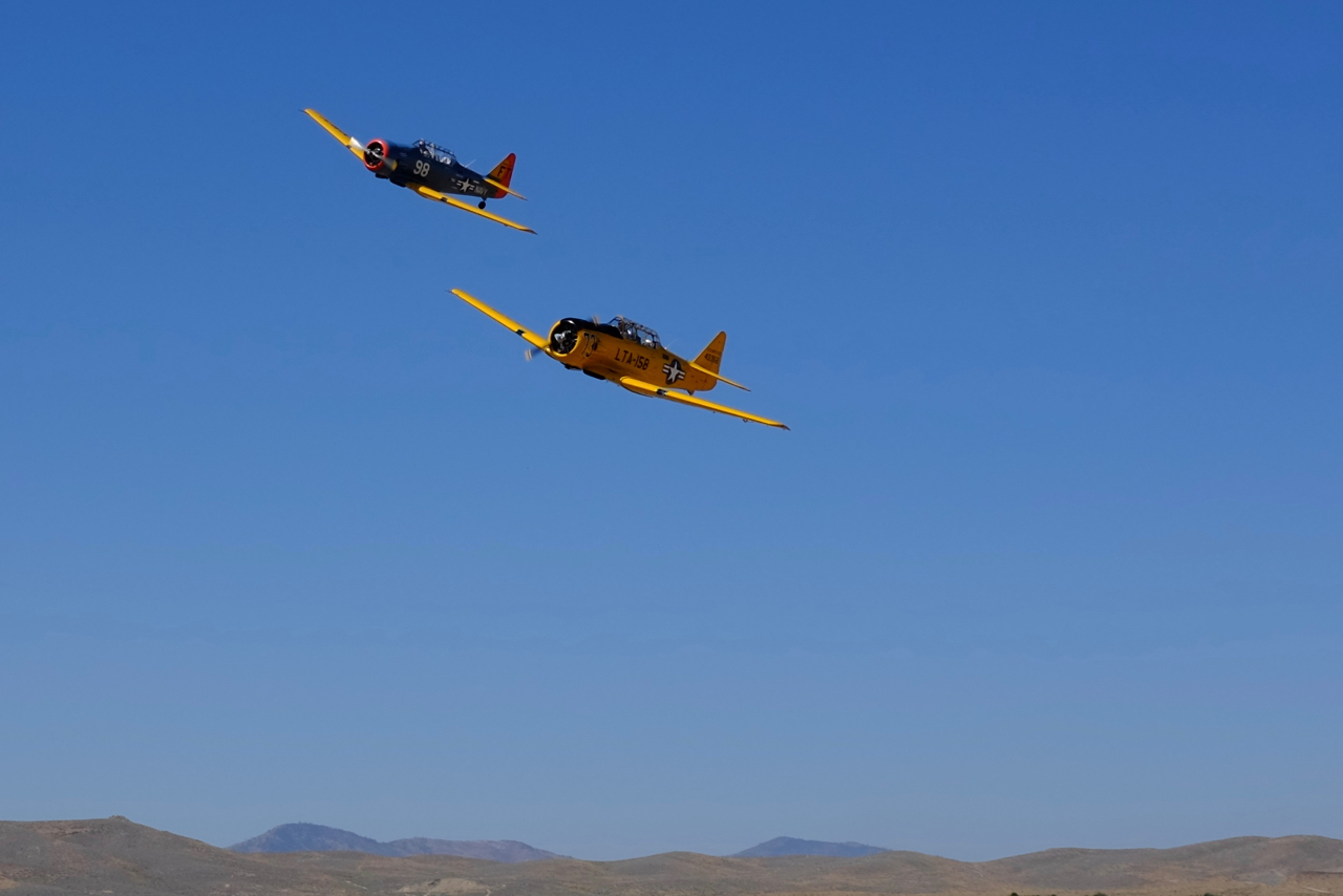 The coolest and wildest planes at the Reno air races