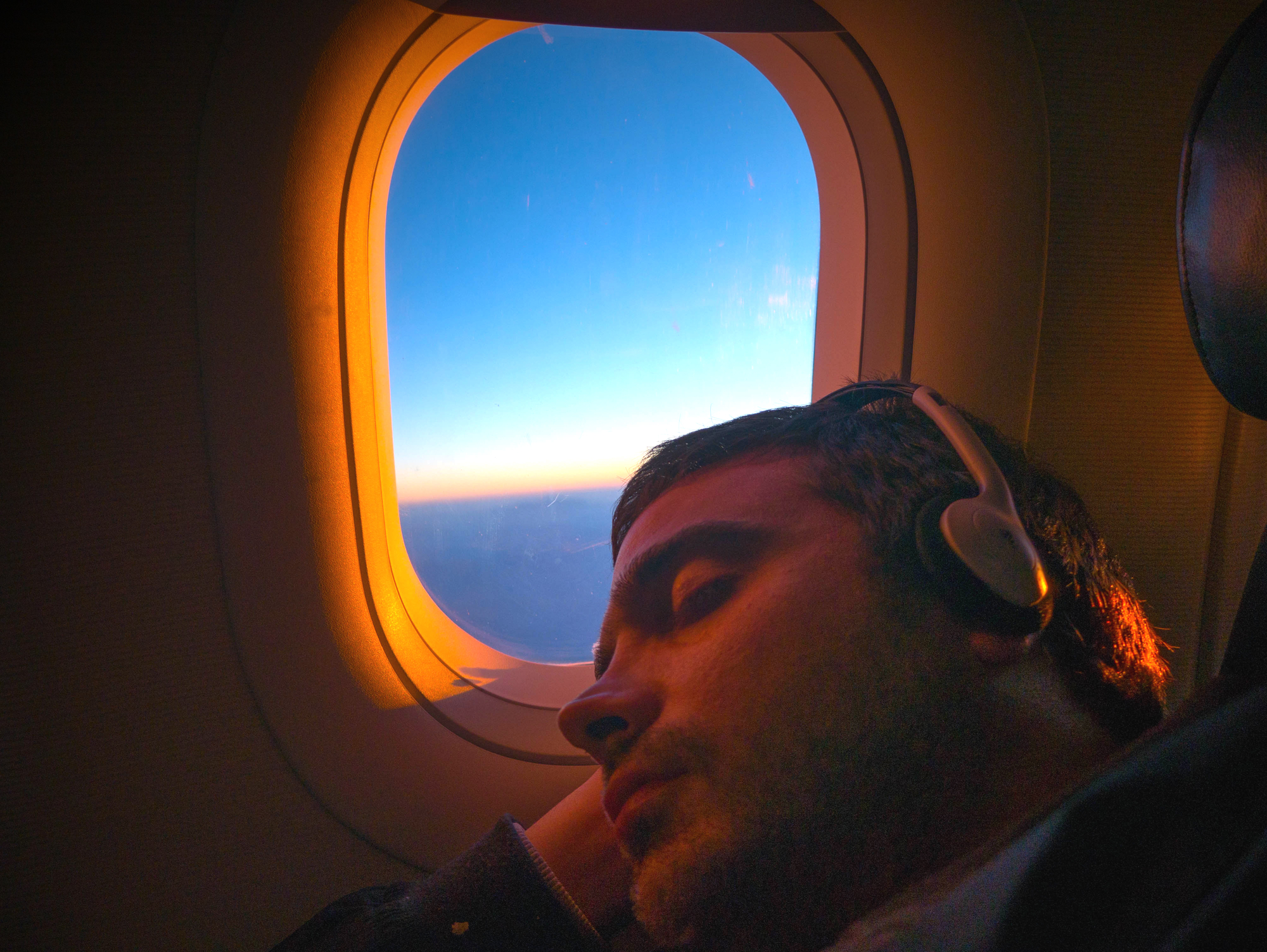 Master the art of sleeping on planes