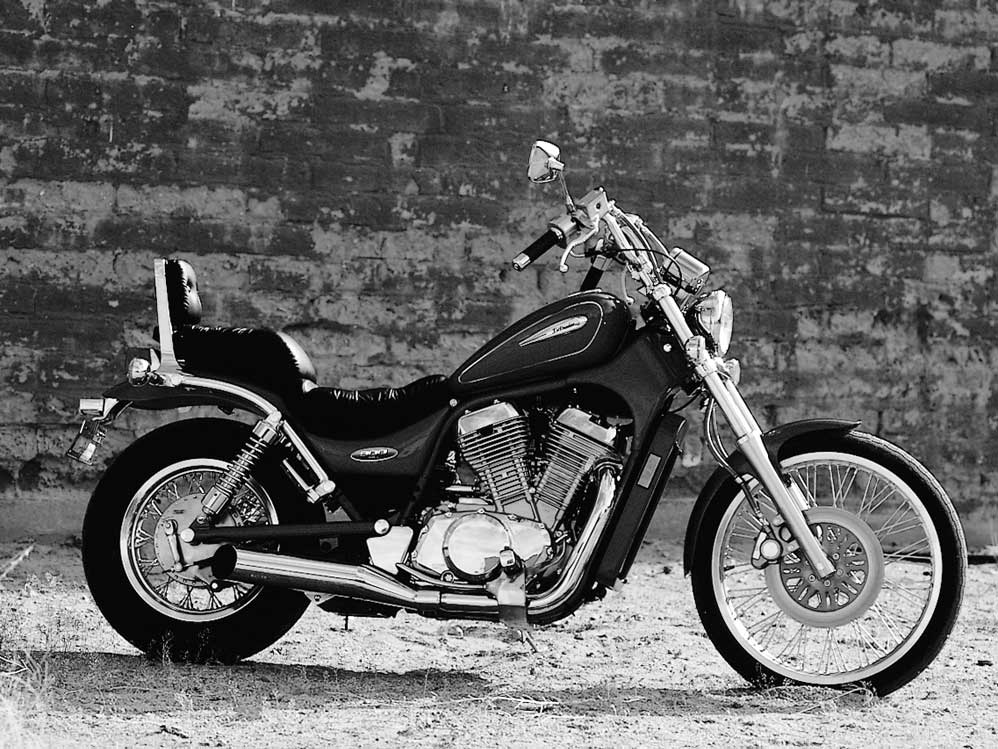 A 1997 Review of Suzuki's '97 Intruder 800 and Marauder from our