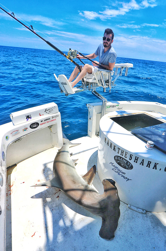 The U.S. protects alpha predators, but its most famous shark hunter isn't out of business yet