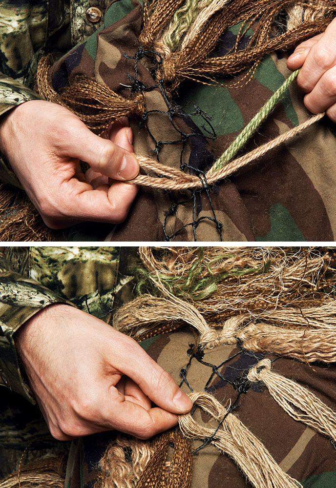 adca95eece869 How to Make a Ghillie Suit in 4 Steps   Outdoor Life