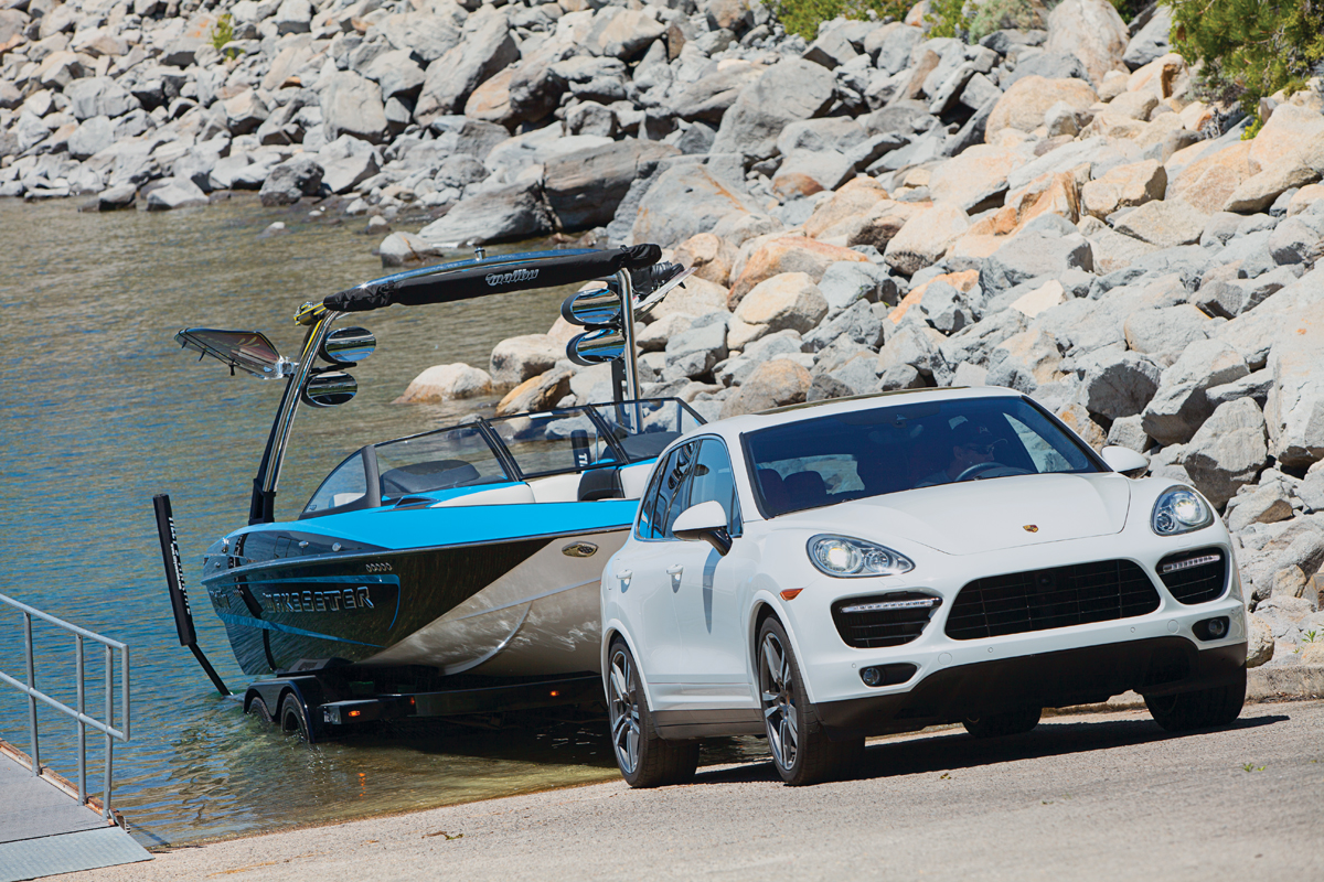 Luxury Towing With A Porsche Cayenne Turbo S Boating Magazine