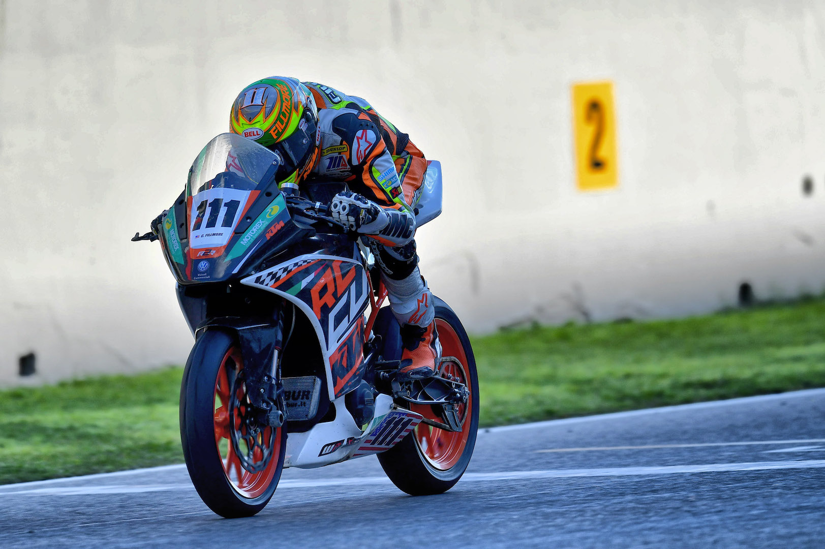 Chris Fillmore Wins Italian Supersport 300 Race On Ktm Rc 390 Prototype Cycle World