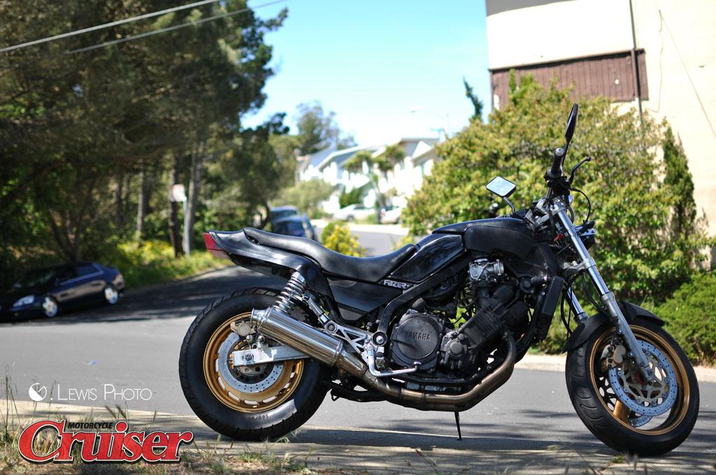 Budget Build: Yamaha Fazer Racer   Motorcycle Cruiser
