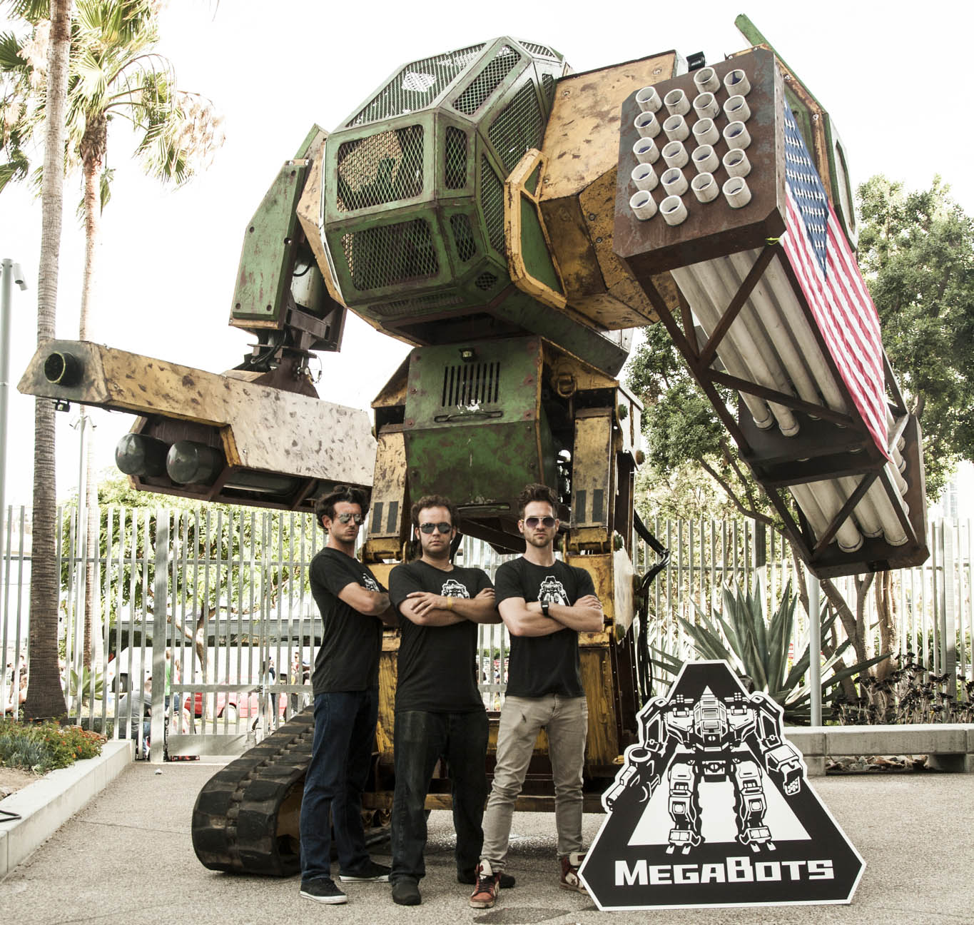 NASA And MegaBots Team Up To Build Giant Fighting Robots
