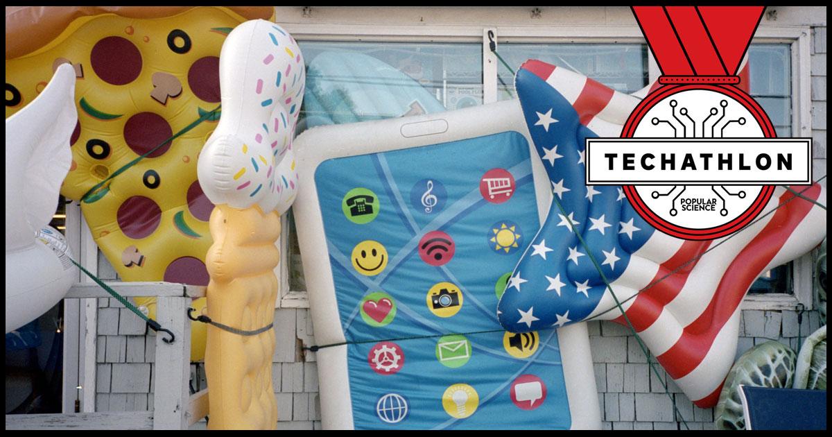 Techathlon podcast: Labor Day tech trivia special