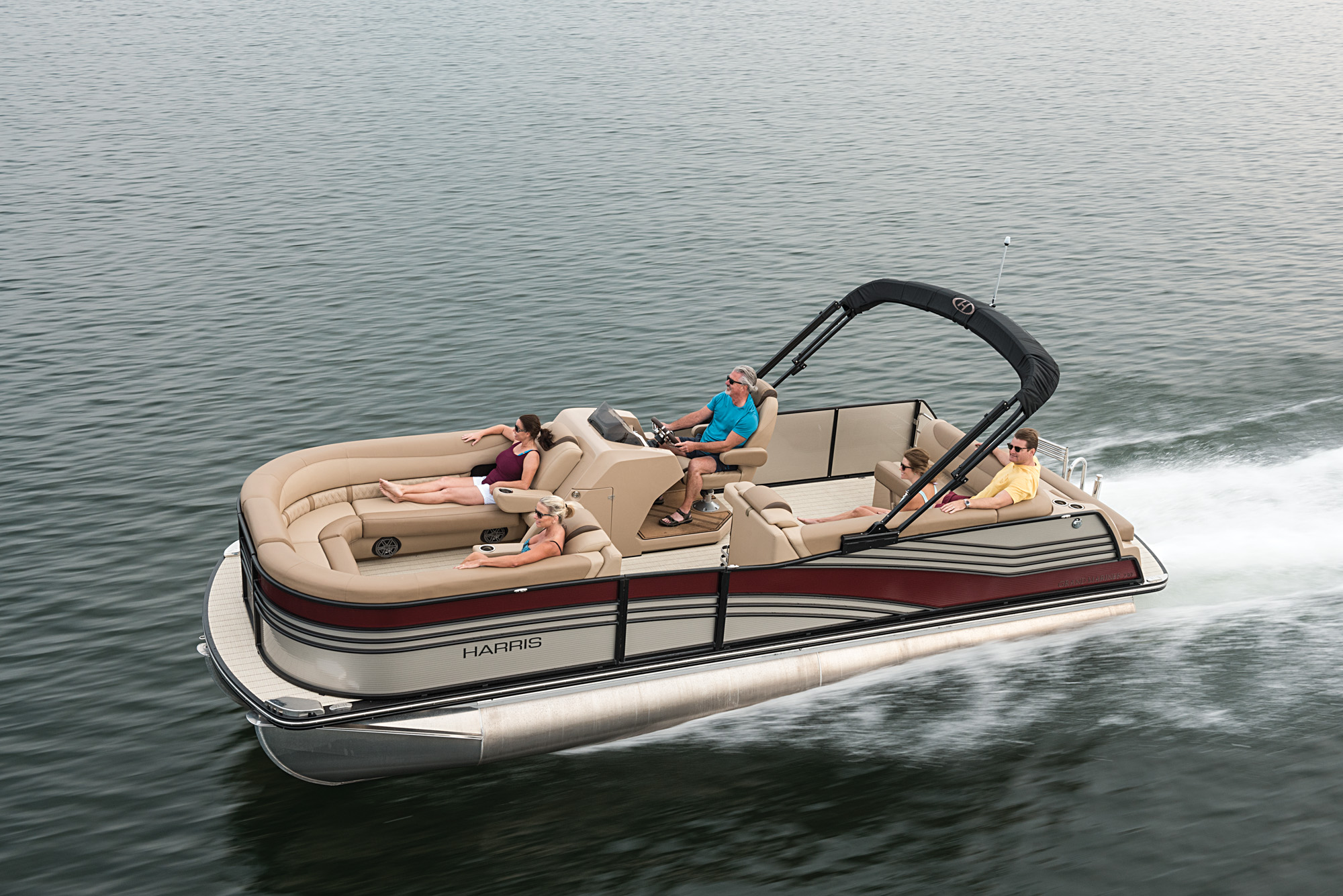 2018 Boat Buyers Guide Harris Grand Mariner Sel 230 Boating Magazine