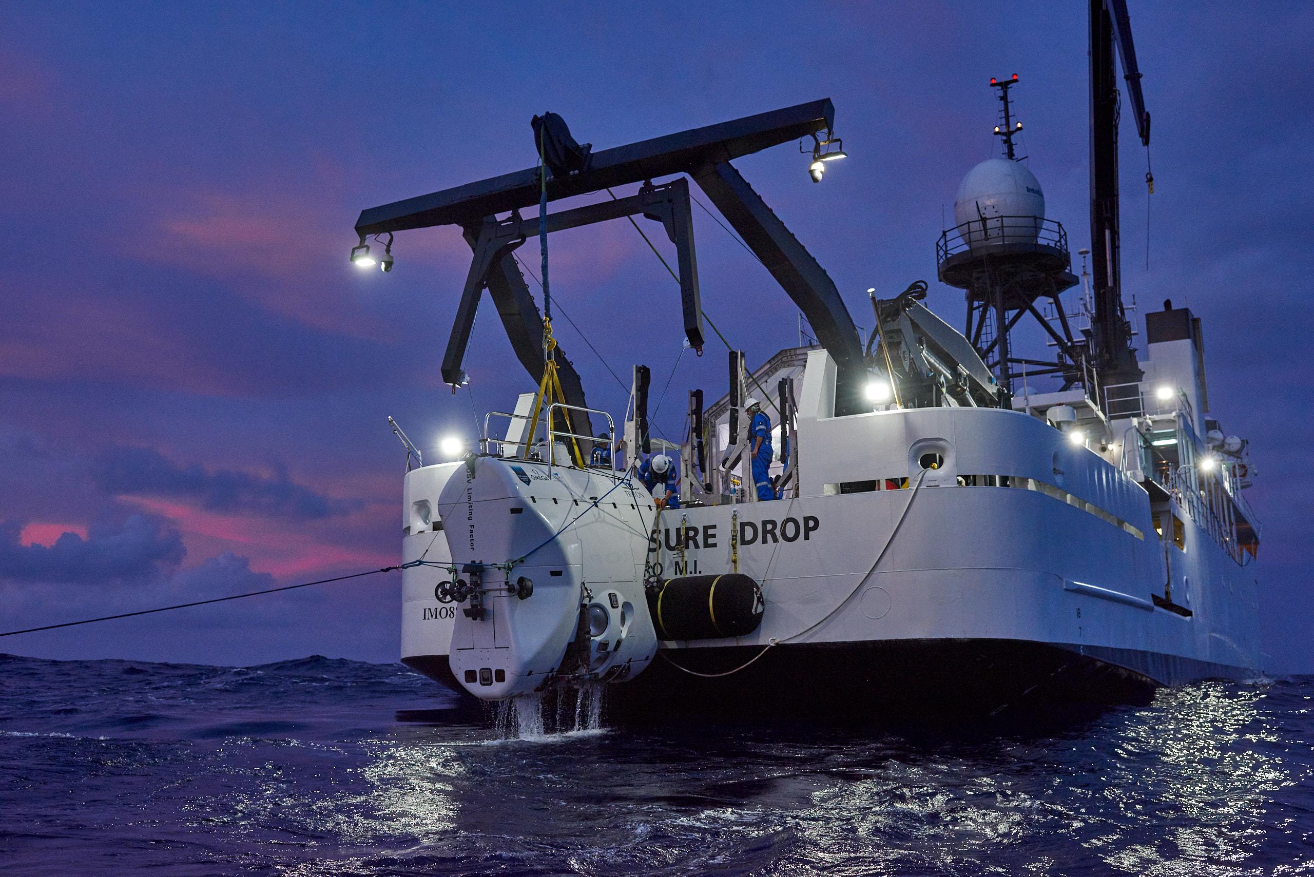 James Cameron disputes Victor Vescovo's record for deepest ocean dive