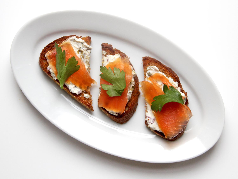 Cream Cheese Spread With Smoked Salmon On Rye Toast Recipe Saveur