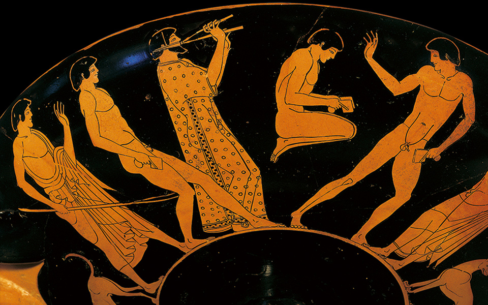 Ancient athletes did something truly shocking with their genitals