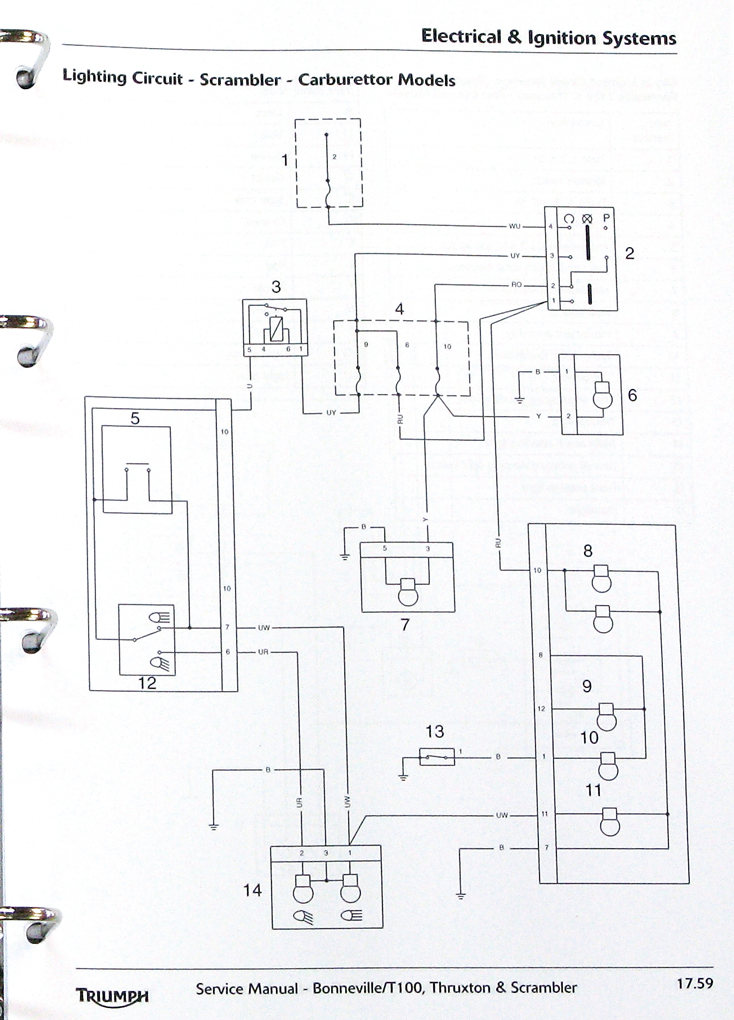 on harley davidson sportster key light wiring diagram
