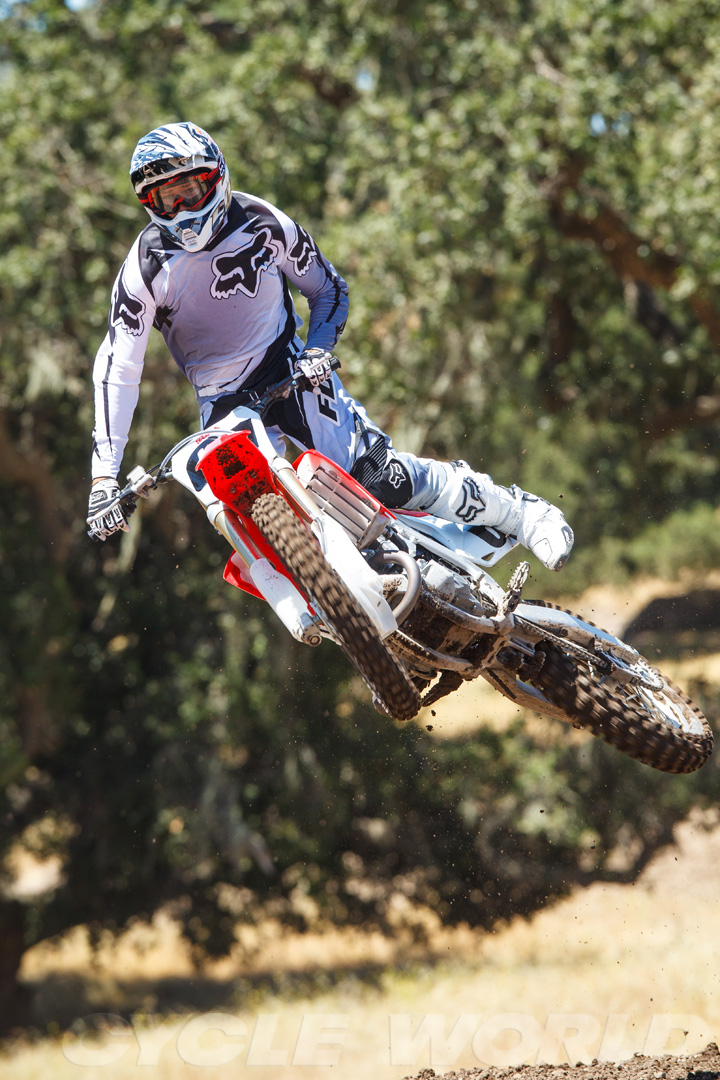 2013 Honda CRF450R First Ride Review- Specifications- Photos