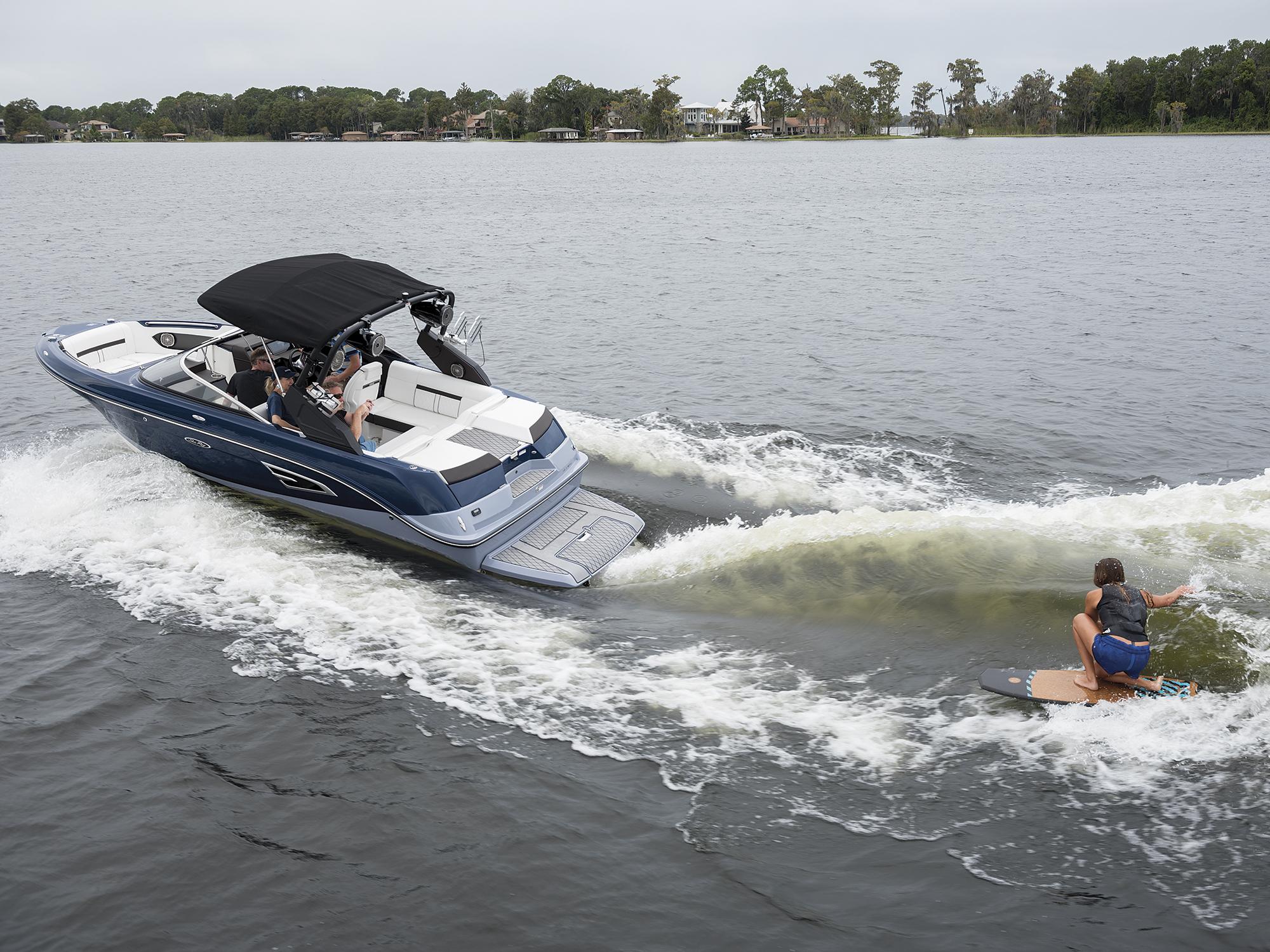 Sea Ray 230 SLX-W Wakesurf Review | Wakeboarding Magazine