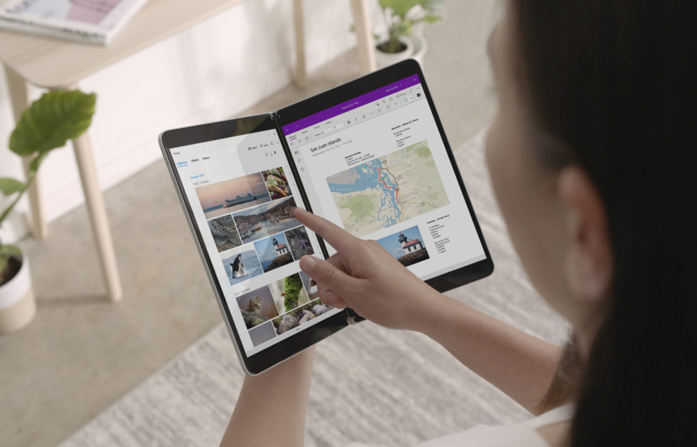 Microsoft has a plan to make dual-screen laptops and phones work in the real world