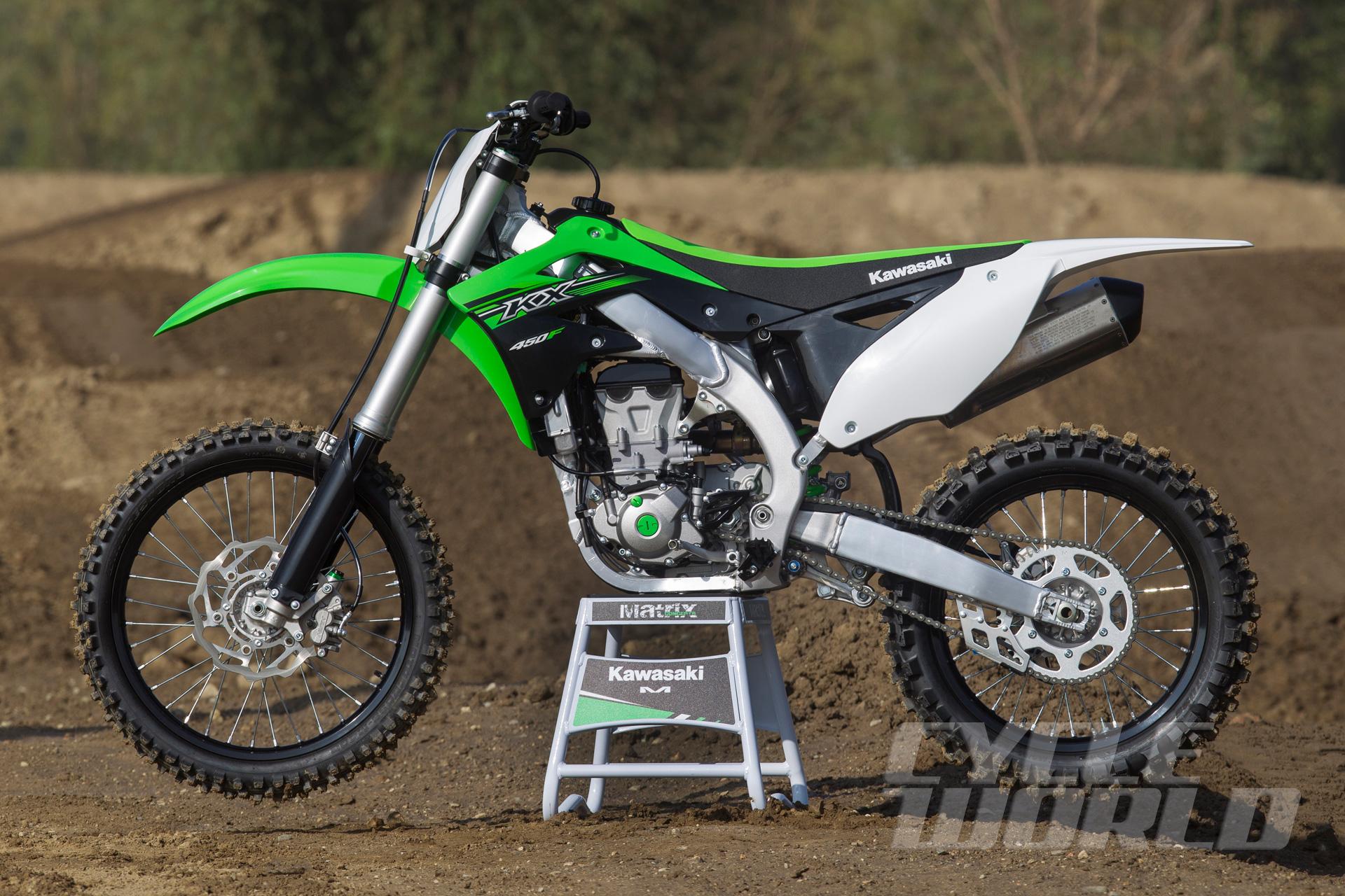 2015 Kawasaki KX450F- First Ride Dirt Bike Review- Photos