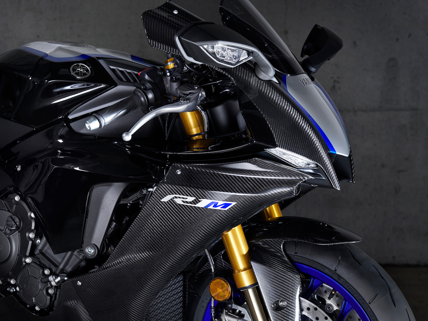 The YZF-R1M comes only a Carbon Fiber through Yamaha's online-reservation system