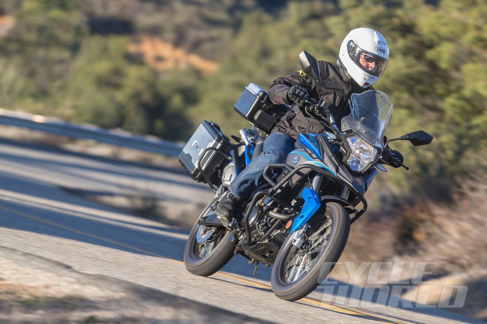 CSC Motorcycles RX3 Cyclone Adventure Motorcycle Review