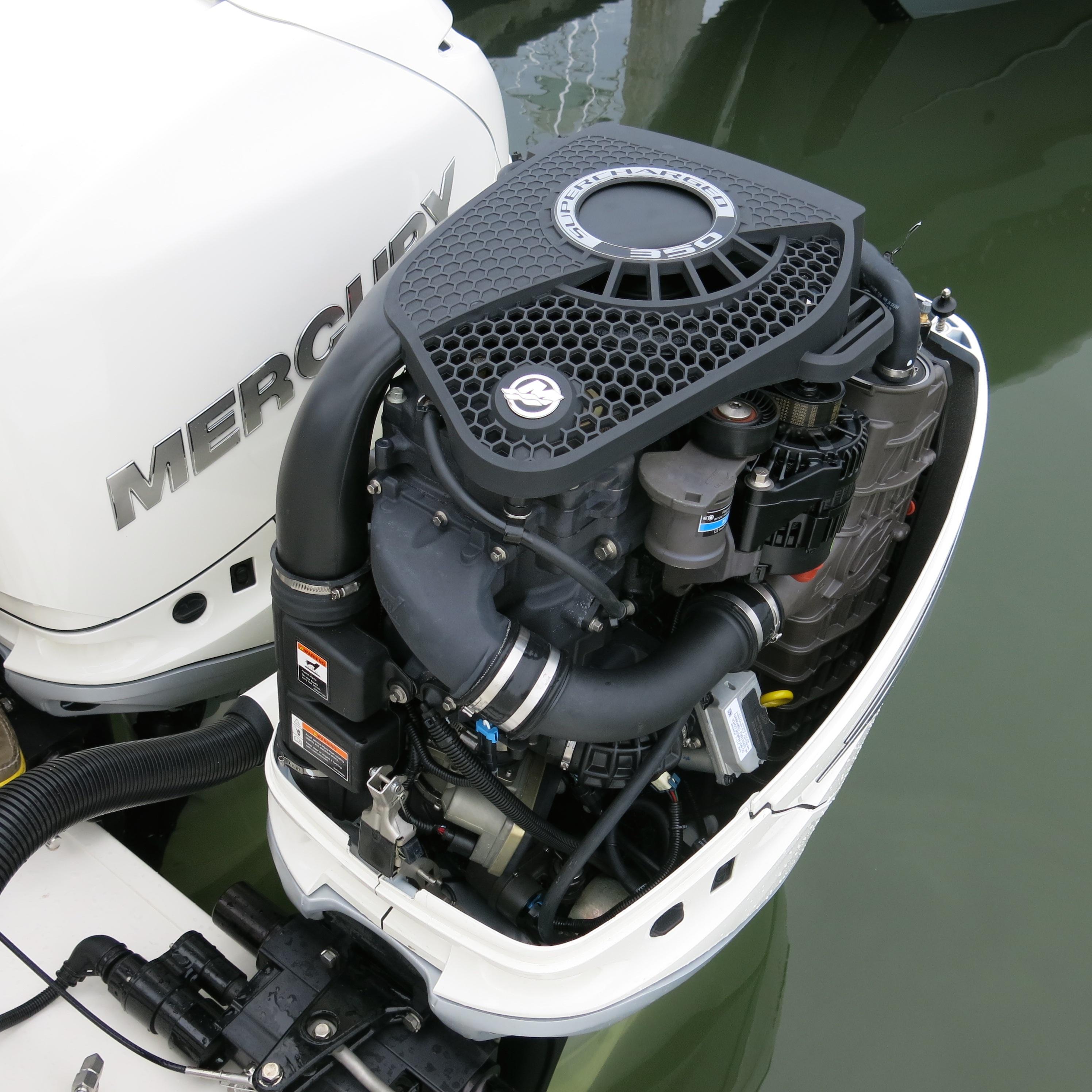 Mercury Introduces Verado 350-HP Outboard at Miami