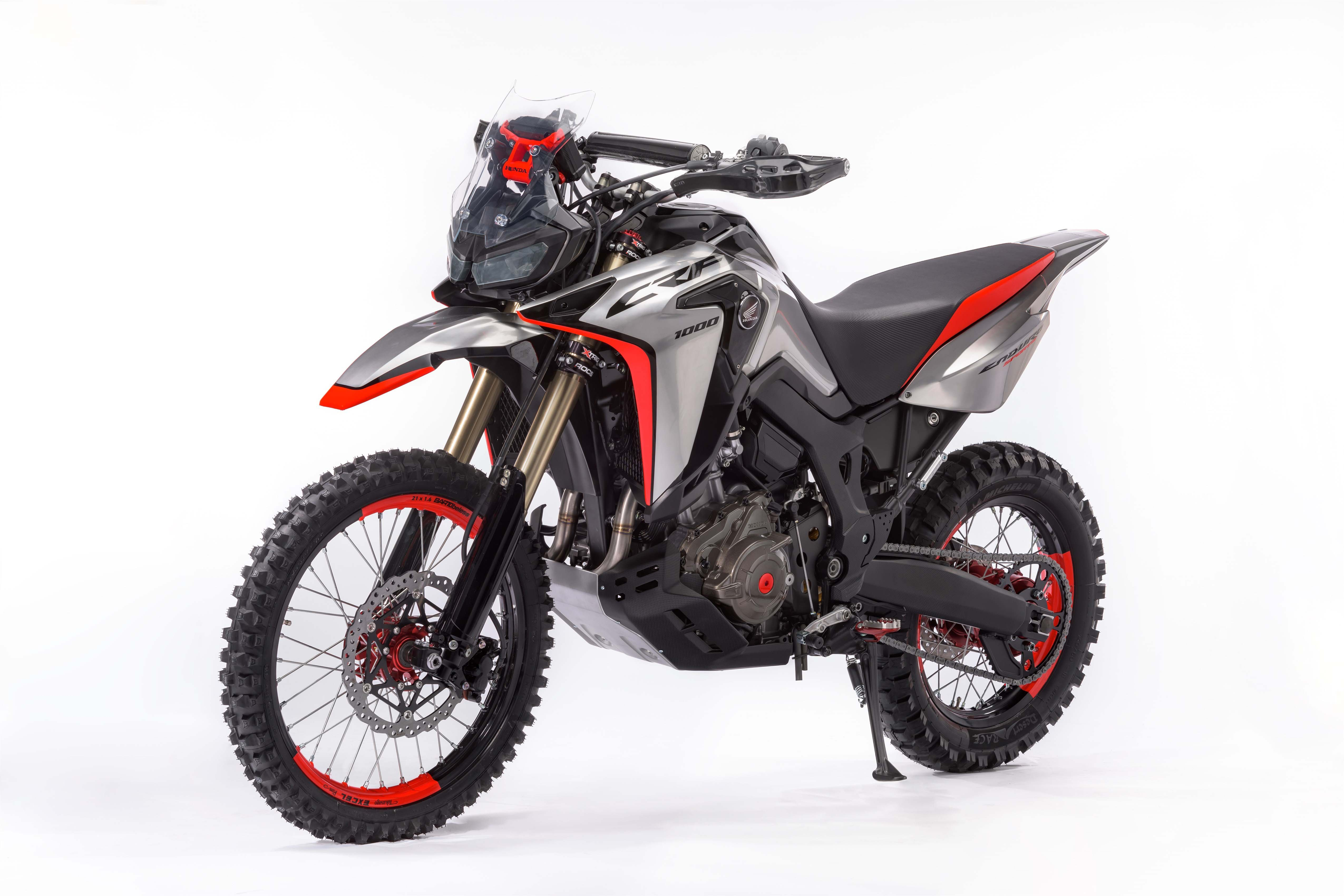 The Honda Africa Twin Enduro Concept Is A Giant Dirt Bike | Cycle World