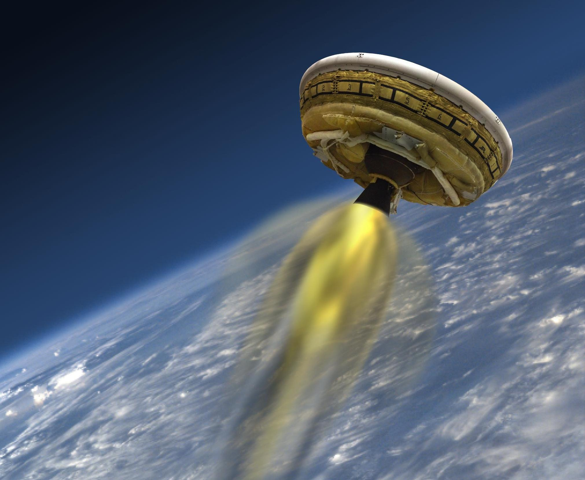 NASA's 'Flying Saucer' Will Test Supersonic Landing From The Edge Of Space