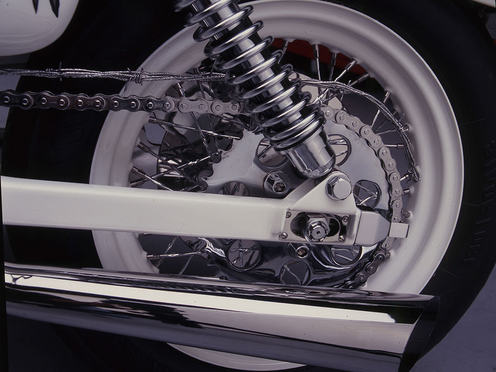 A Custom 1983 Harley-Davidson XLH Sportster Built For
