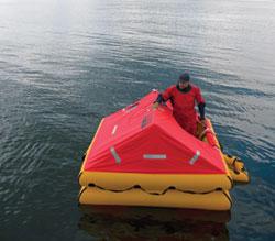 9 Life Rafts Reviewed   Cruising World