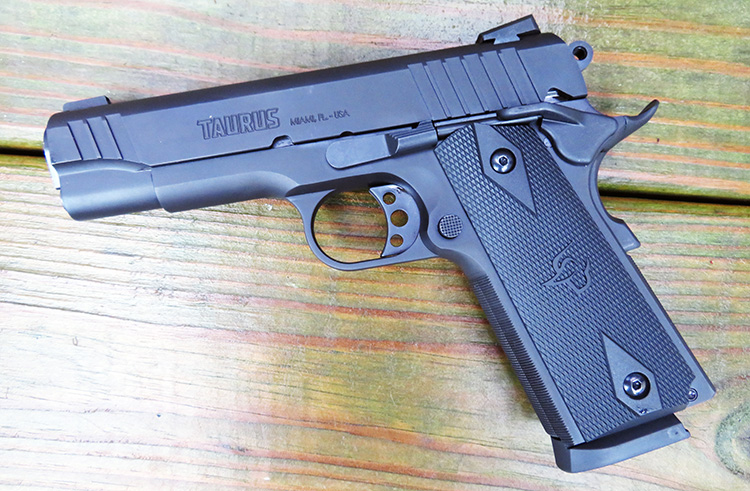 Gun Review - Taurus 1911 Commander   Range 365