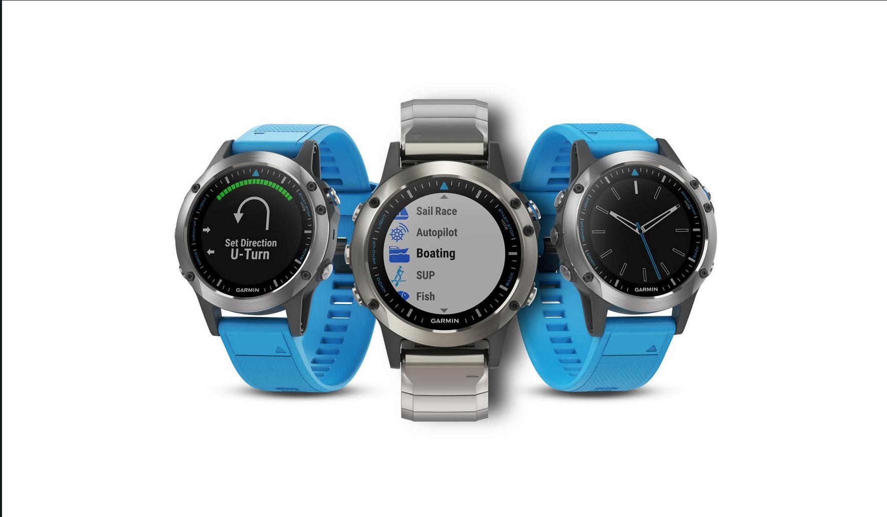 Garmin Debuts quatix 5 Marine GPS Smartwatch | Boating Magazine