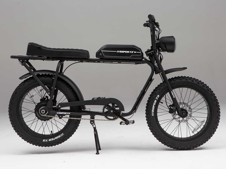 Super73 S1 Black Bike Seat ~BRAND NEW!