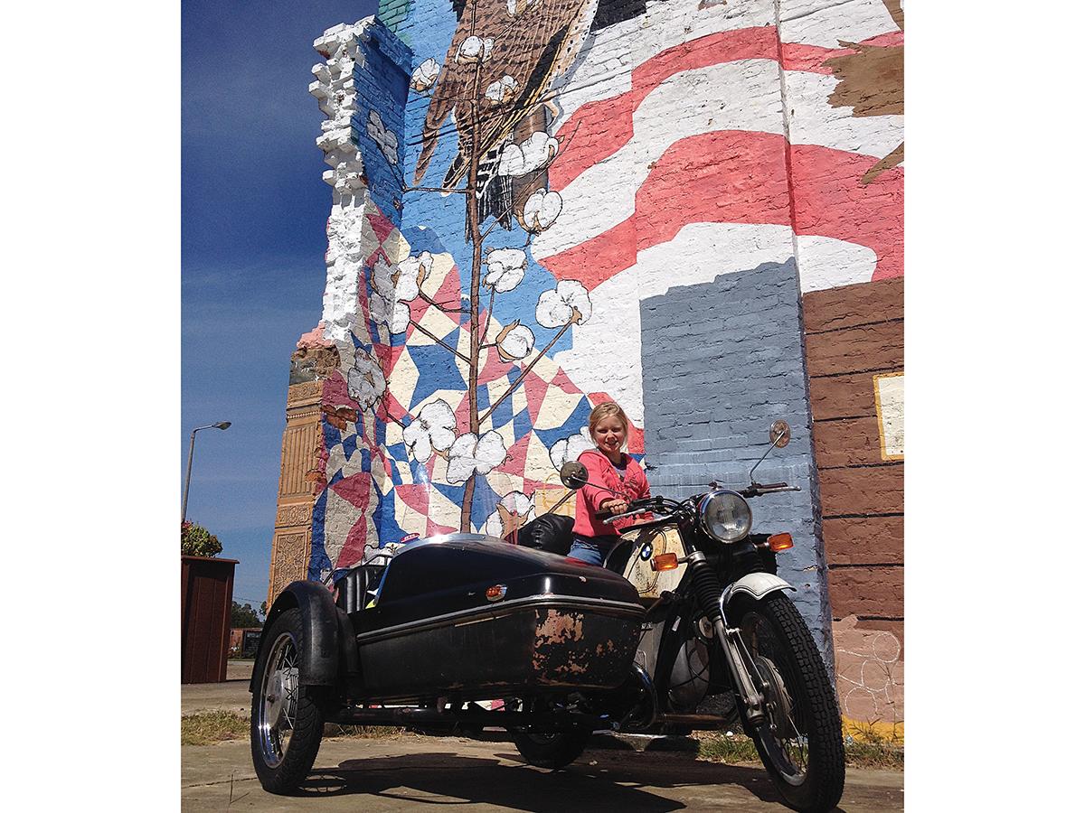 Ruby's Epic BMW Sidecar Ride | Motorcyclist