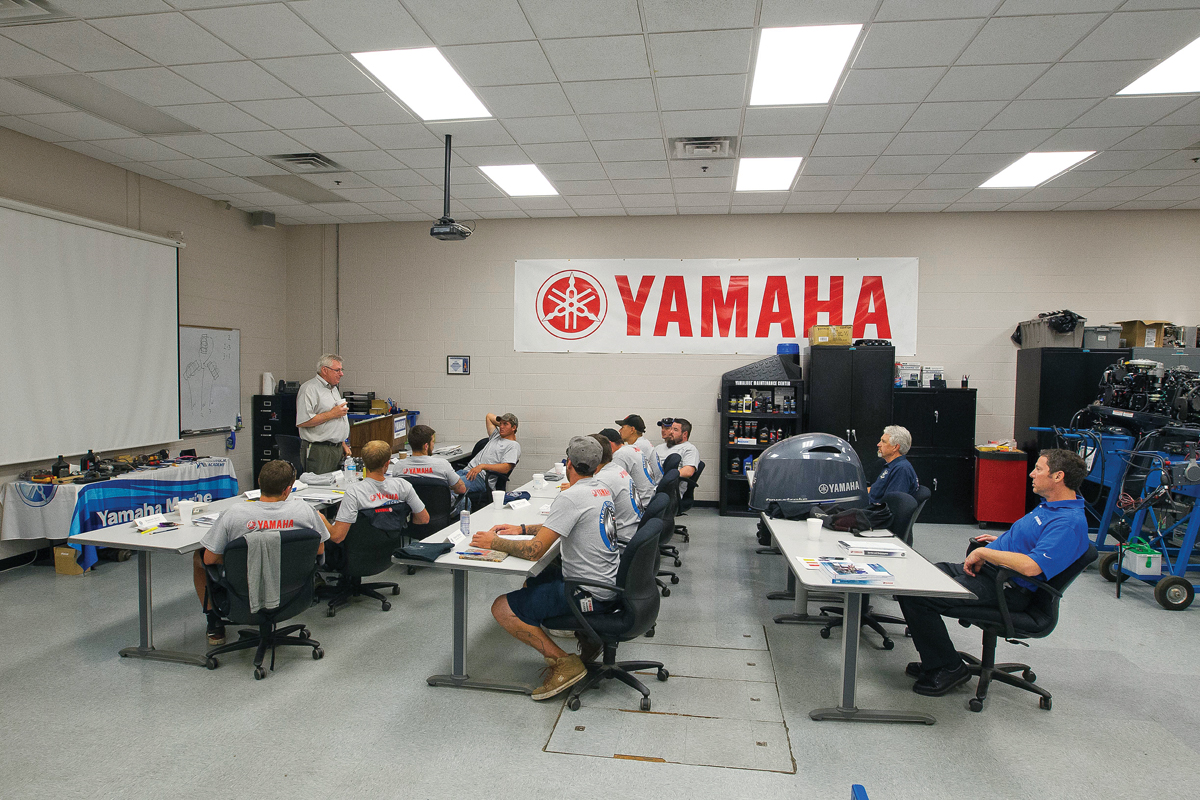 Learning to Maintain Outboards at Yamaha Marine Service