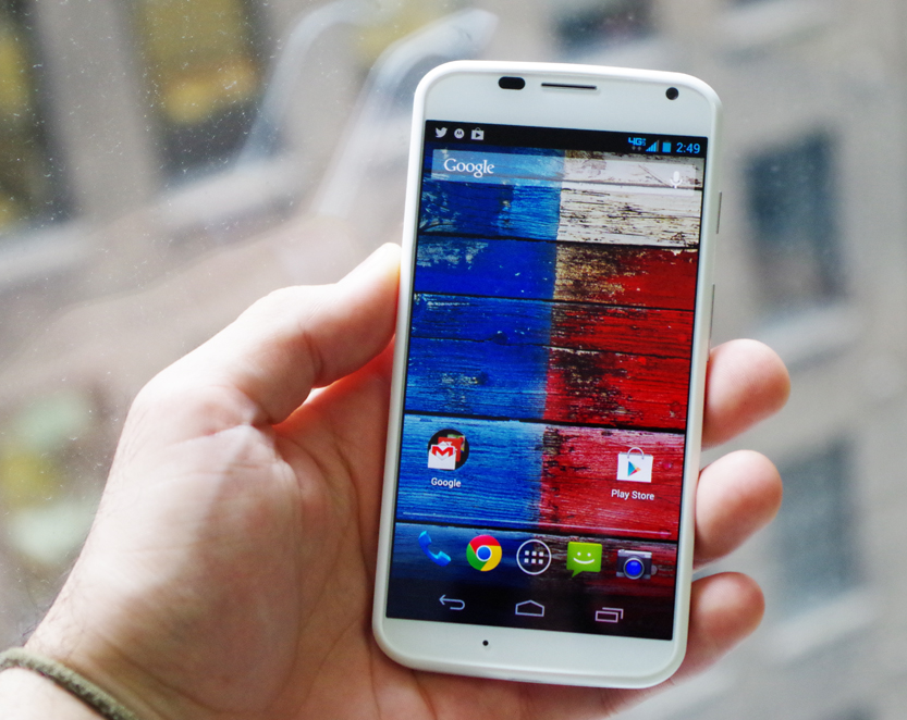 The New Google/Motorola Moto X Smartphone Is A Quiet Delight