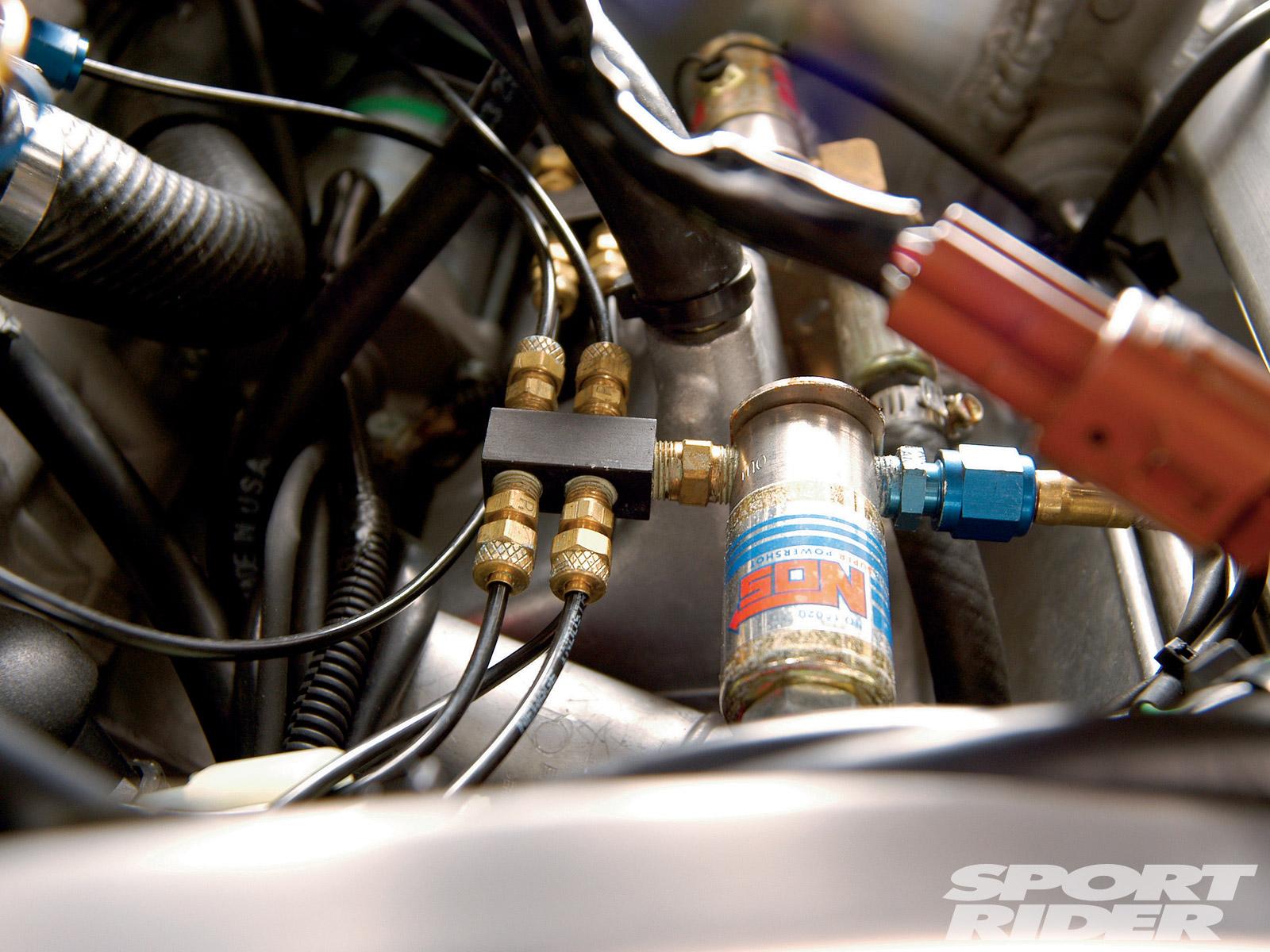 Suzuki Jet Sport 4 50 X 5 NOS Nitrous Oxide Kit /& Boost Bottle
