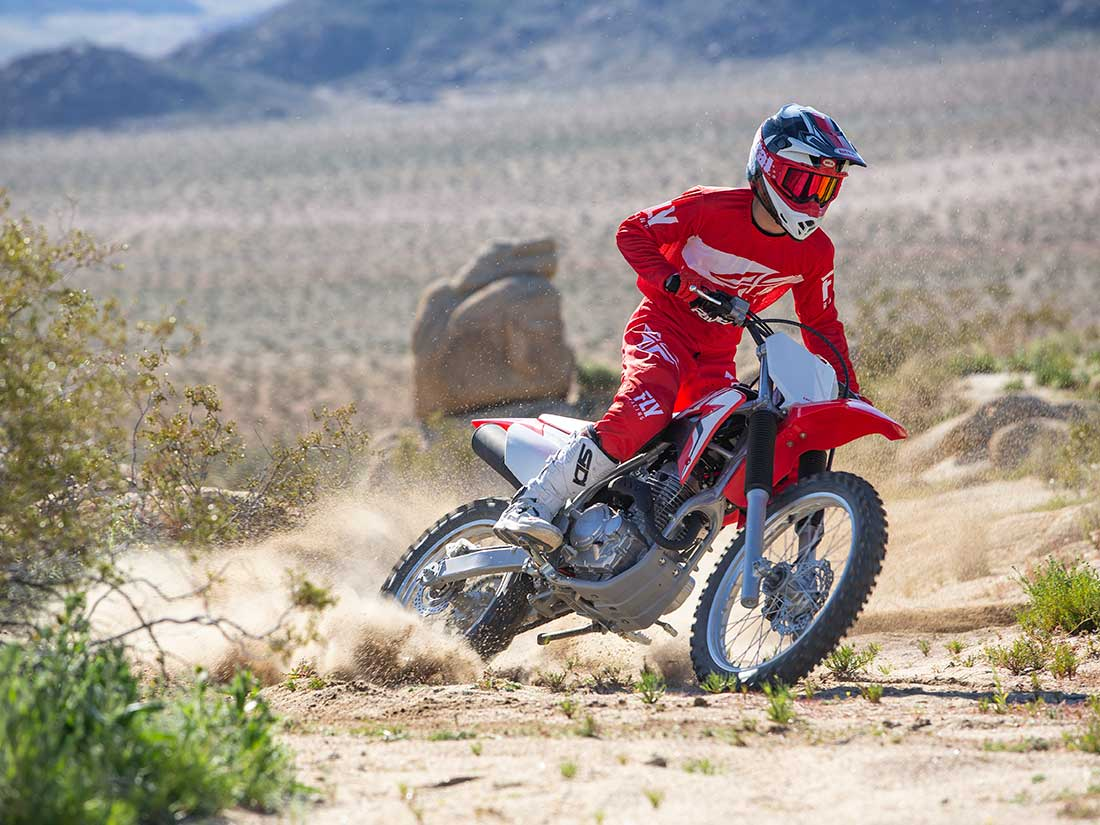 2019 Honda CRF250F First Ride Review   Dirt Rider
