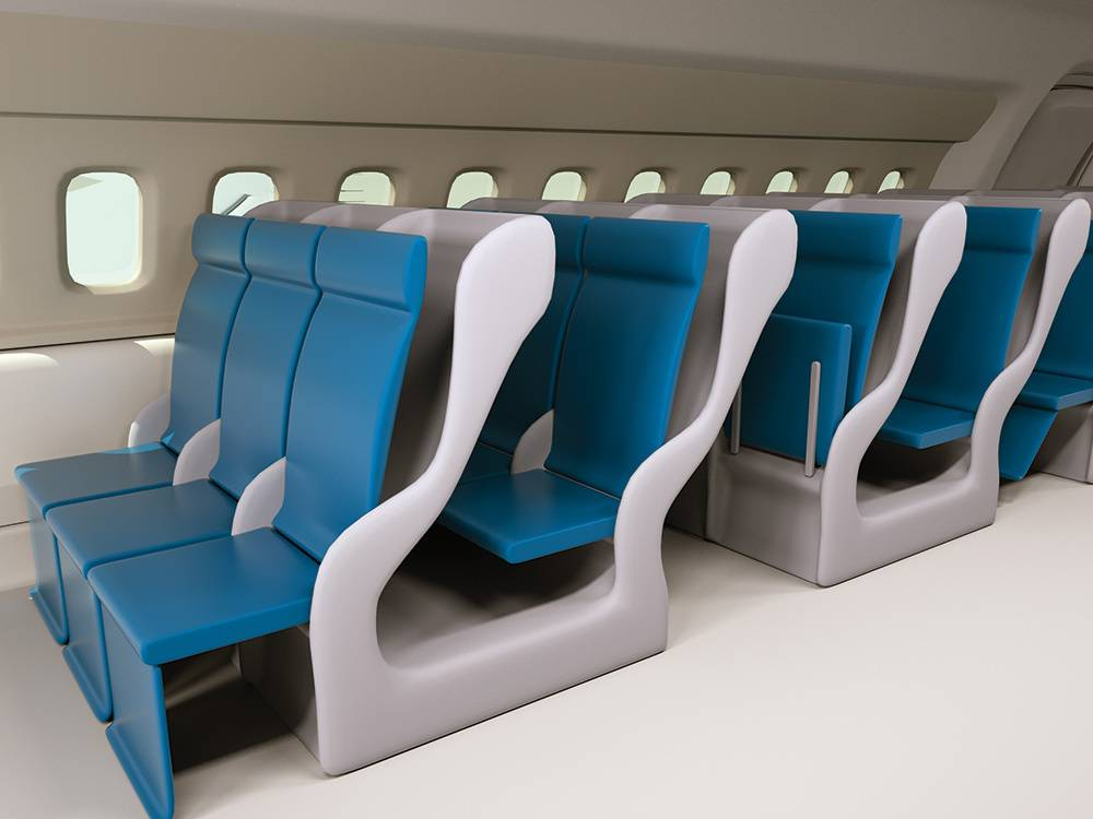 Why you have no personal space on huge airplanes   Popular Science