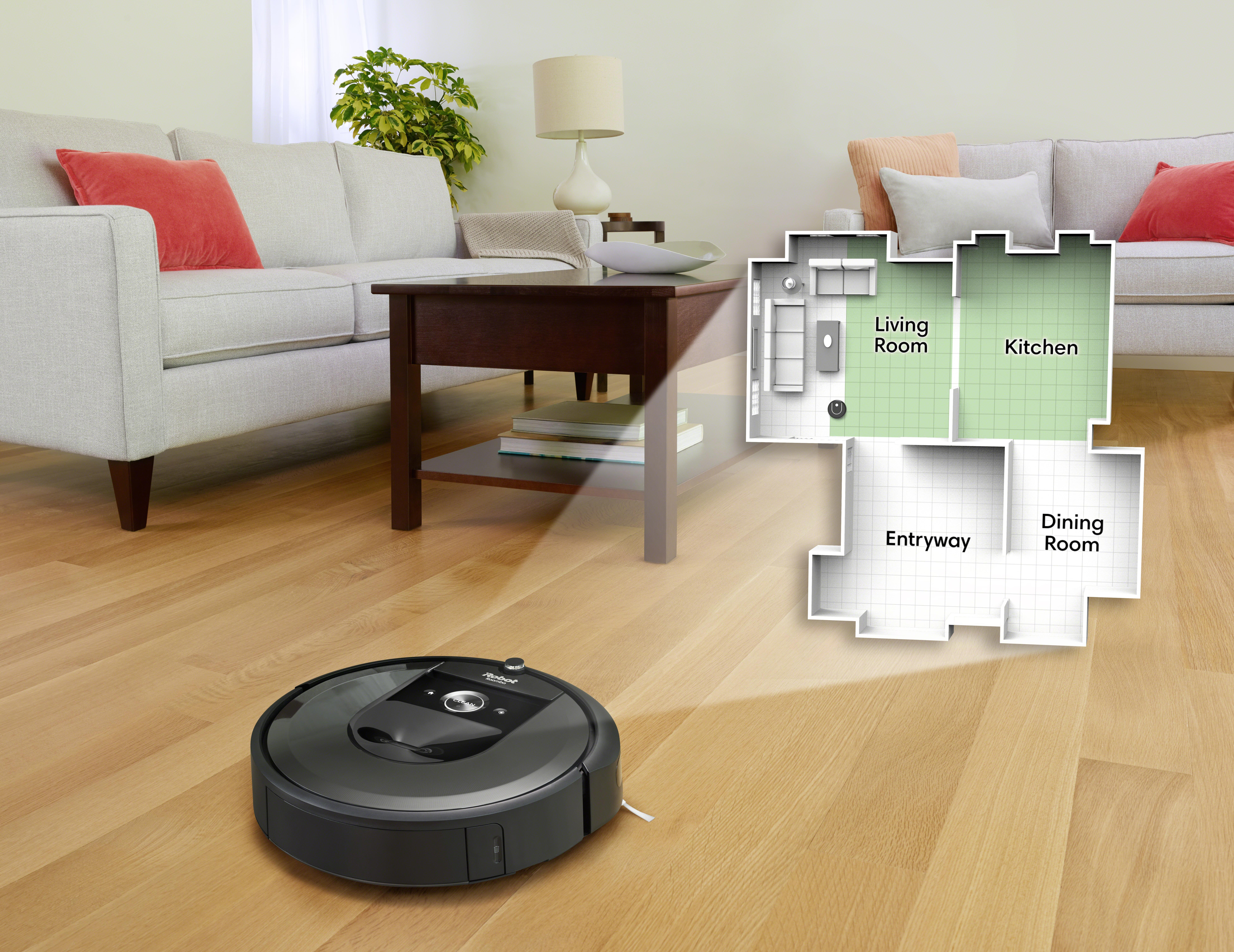 Roomba's new robotic vacuum remembers your home's layout for