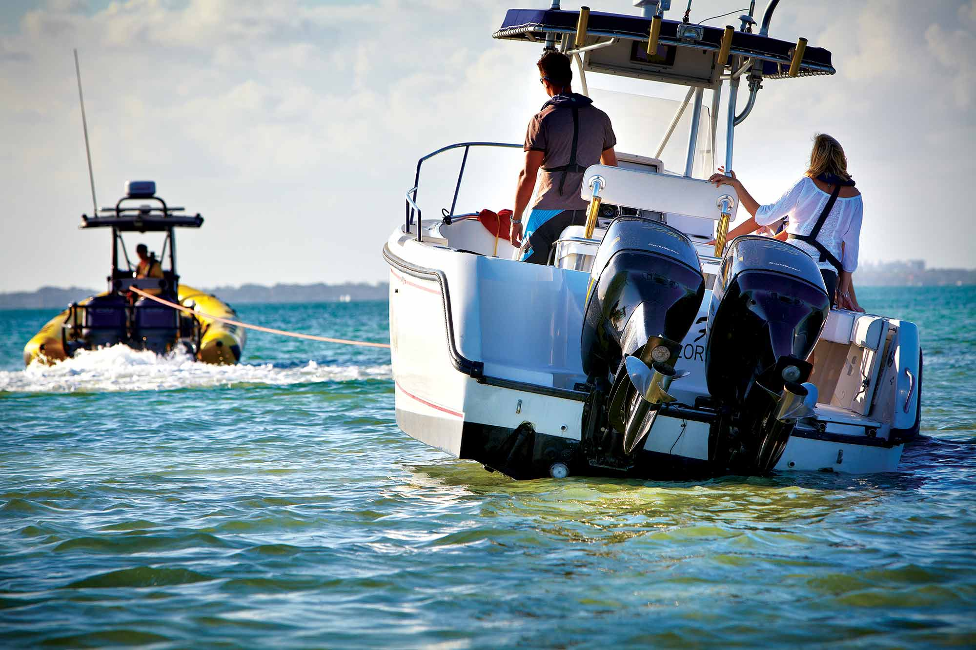 How To Choose A Boat Towing Service Sport Fishing Magazine