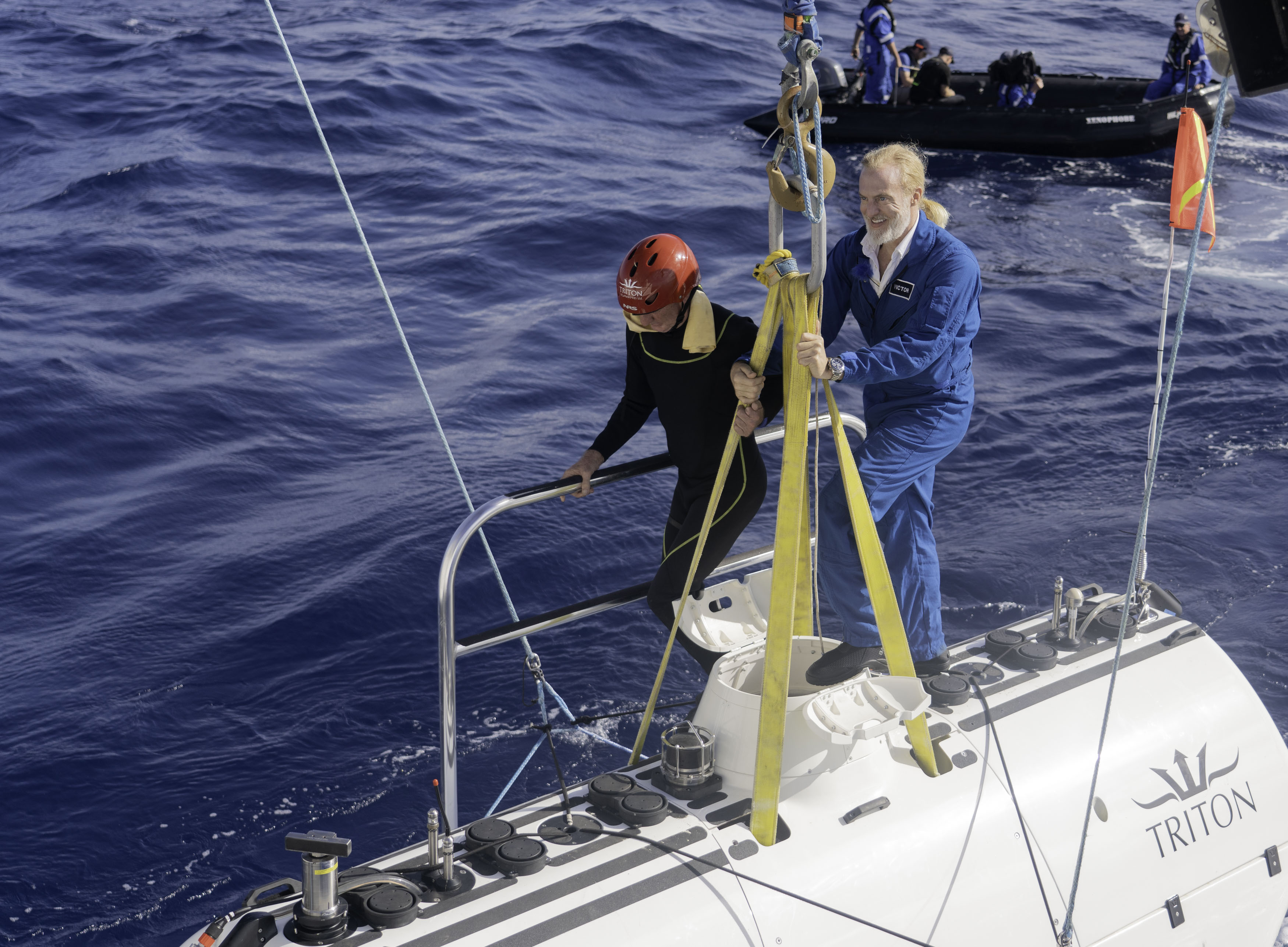 An inside look at the first solo trip to the deepest point of the Atlantic