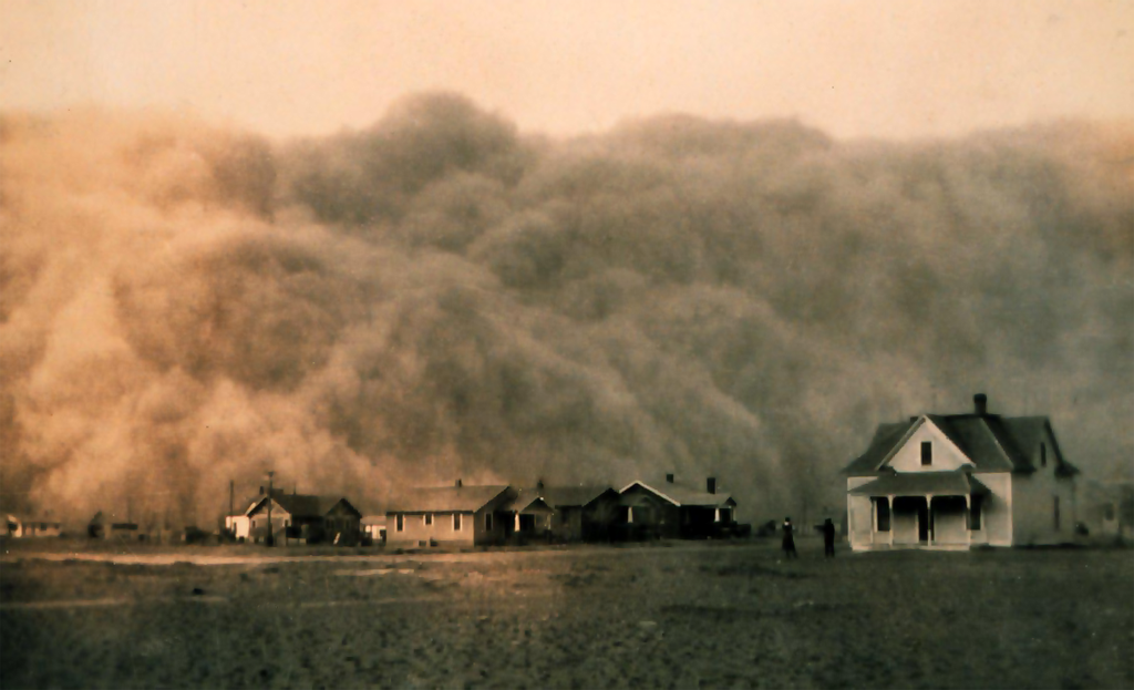 We're barreling towards another Dust Bowl