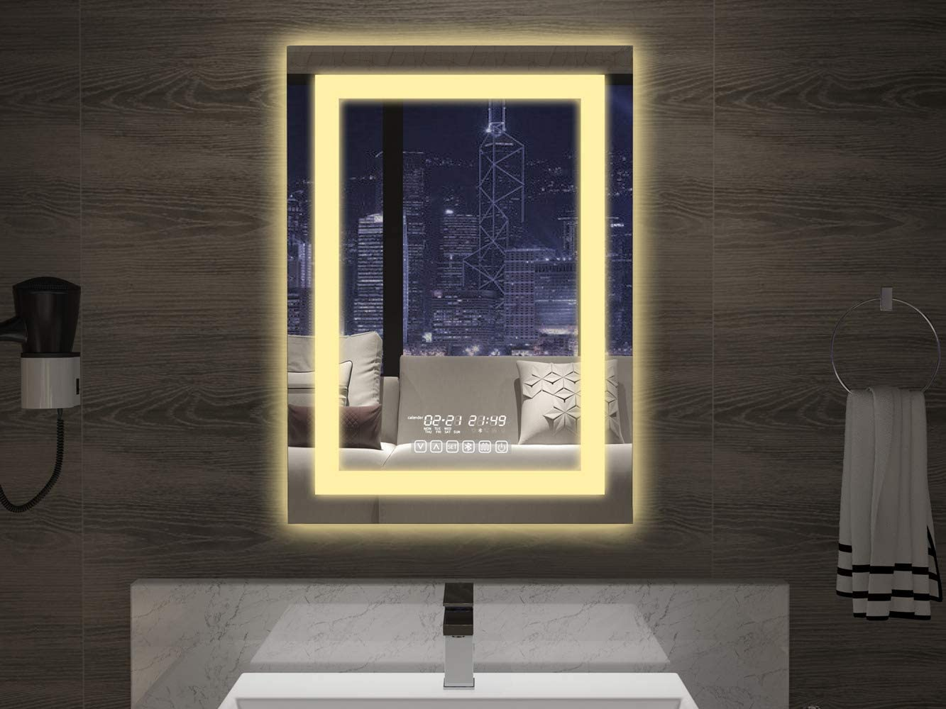 Elevate your bathroom with these smart mirrors