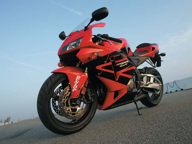 2005 Honda Cbr 600rr Streetbike First Ride Review Motorcyclist
