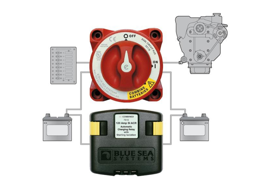 Automatic Charging Relay Systems for Boats | Salt Water ... on