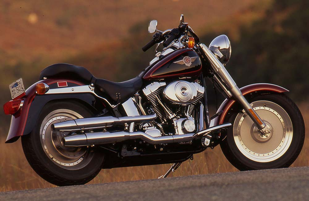 Riding Impression of the 2000 Harley-Davidson FXSTF Fat Boy Softail on