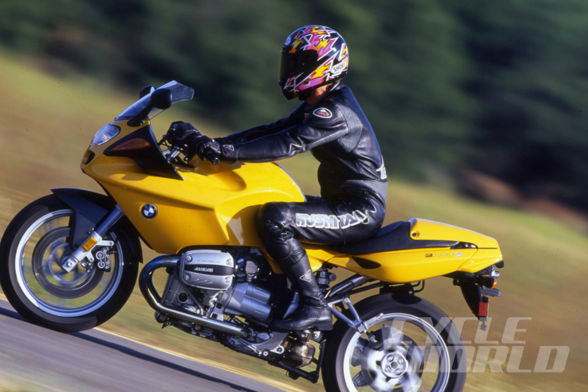 1999 BMW R1100S Sport-Tourer Road Test Review- Photos