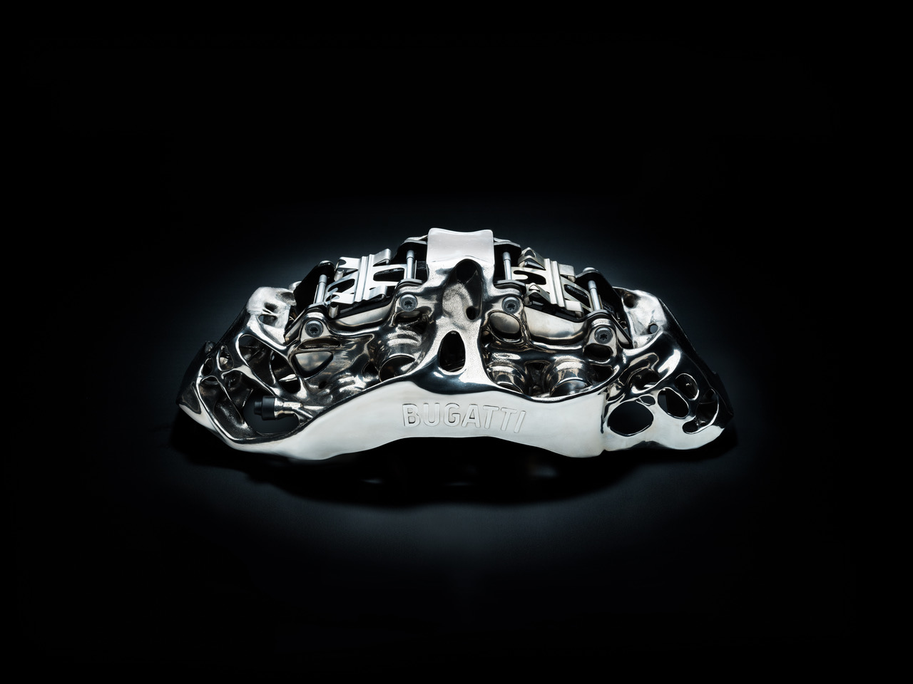Bugatti 3D printed titanium brakes to stop its $3 million Chiron supercar
