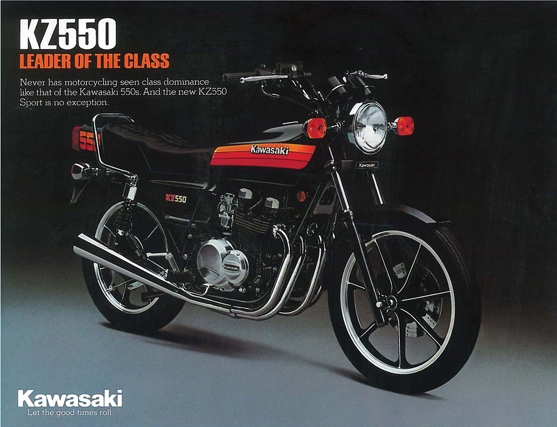 Roots: Kawasaki GPz550 | Motorcyclist
