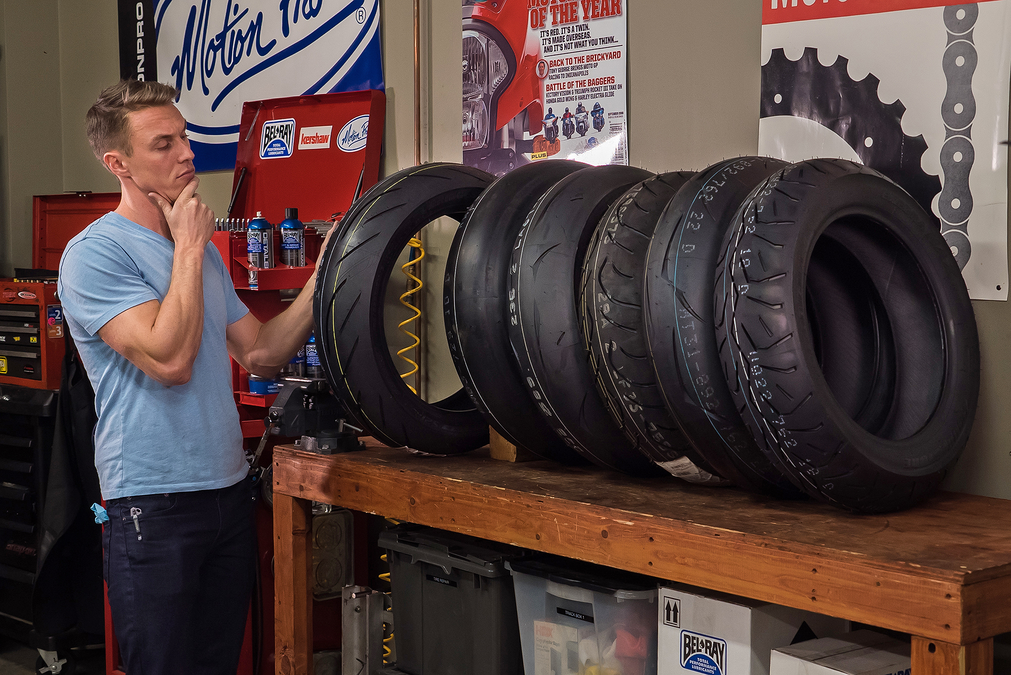 Types of Motorcycle Tires | Video | Motorcyclist