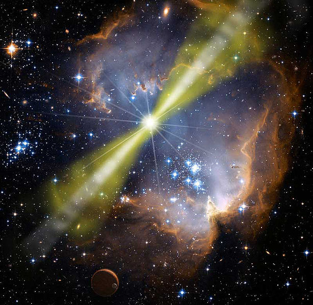NASA Scientists Observe The Brightest Explosion Ever