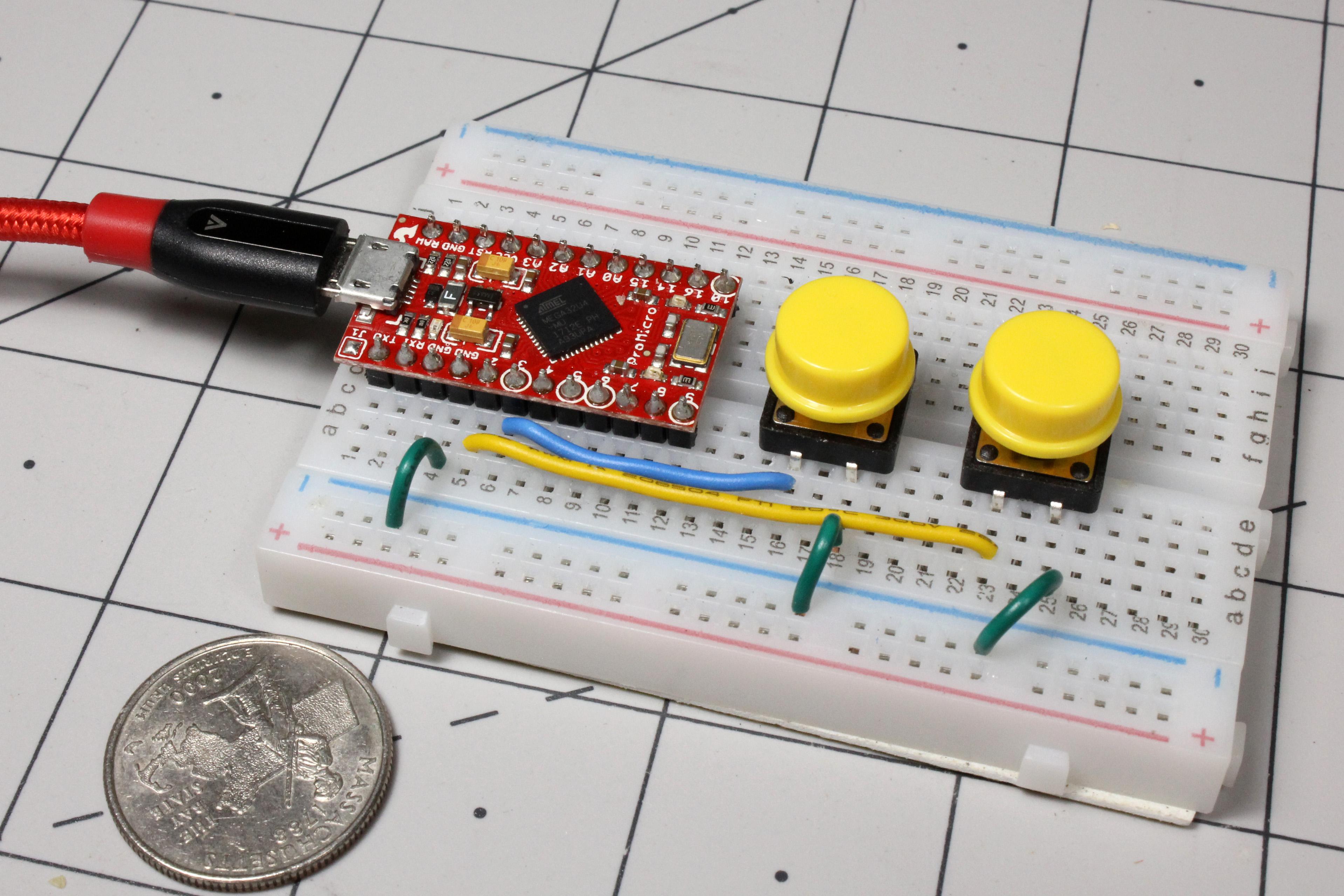 How to create custom shortcut keys with Arduino