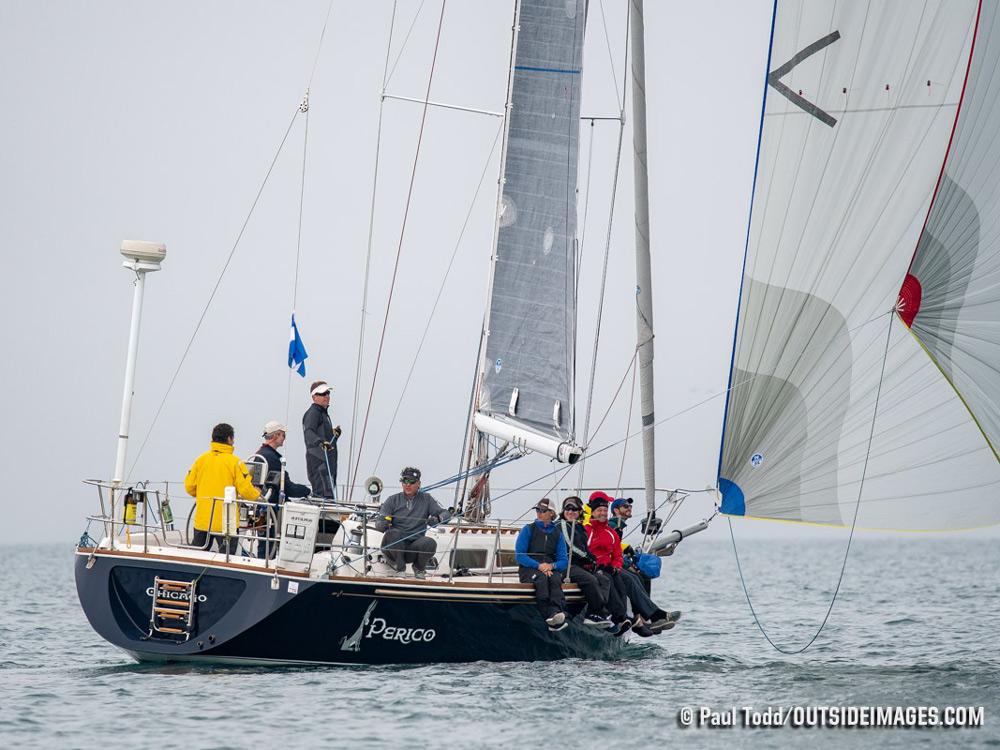 2018 Helly Hansen NOOD Regatta Chicago: Sail trim Saturday